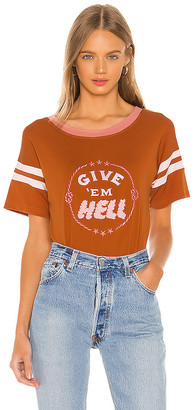 E.m. Understated Leather Give Hell Tee