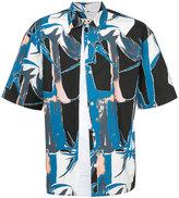 Marni Twist print short sleeved shirt