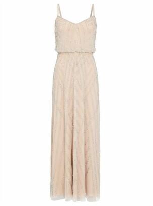 Adrianna Papell Beaded Maxi Dress