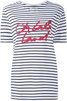 Each X Other Other - striped boyfriend T-shirt - women - Cotton - XS