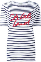 Each X Other striped boyfriend T-shirt - women - Cotton - XS