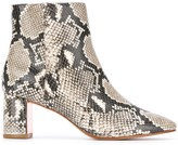 Sophia Webster Toni snakeskin effect boots