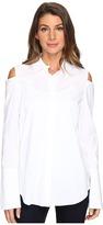 NYDJ Cold Shoulder Shirt Women's Clothing