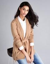 Bardot Satin Wrap Jacket