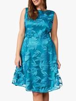 Studio 8 Lurina Overlay Dress, Turquoise