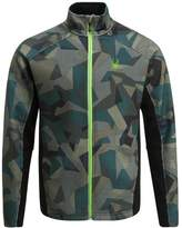 Spyder Constant Novelty Tailored Mid Fleece Guard Camo Print/black