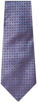 Chanel Vintage Blue Silk Jacquard Tie