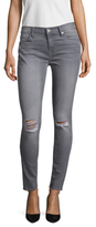 7 For All Mankind Embroidered Pocket Skinny Jean