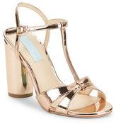 Betsey Johnson Luisa High Heel T-Strap Sandals