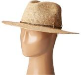 Hat Attack Raffia Crochet Continental Traditional Hats