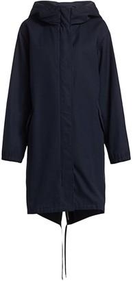 Max Mara Treated Cotton Raincoat