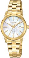 Citizen Women's Quartz Gold-Tone Stainless Steel Bracelet Watch 28mm