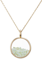 Aurelie Bidermann 18Kt Yellow Gold Chivor Necklace with Peridot