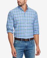 Polo Ralph Lauren Men's Big & Tall Classic-Fit Plaid Oxford Shirt