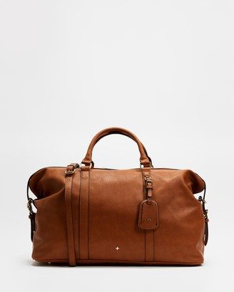 PETA AND JAIN - Women's Brown Weekender - Reagan Weekender - Size One Size at The Iconic