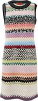 Missoni Stripe Scalloped Knit Dress