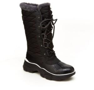 JBU Women's Lorina Mid-Calf Winter Boot Women's Shoes