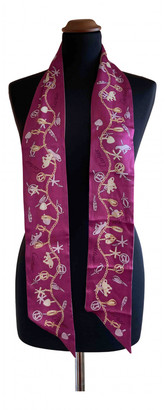 Cartier Purple Silk Scarves