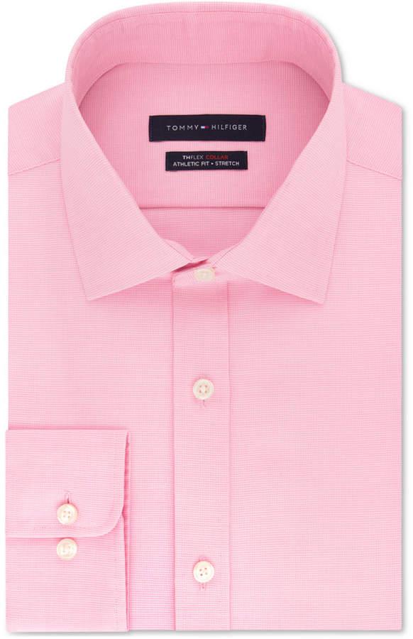 cfdf15c8 Tommy Hilfiger Pink Men's Dress Shirts - ShopStyle