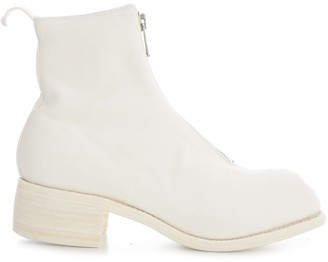 Guidi Front Zip Boots Sole Leather