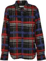 Golden Goose Deluxe Brand Checkered Knit Shirt