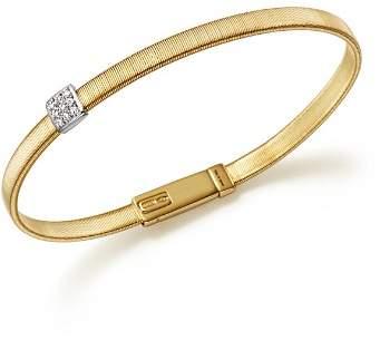 Marco Bicego 18K Yellow Gold Masai Single Station Diamond Bracelet
