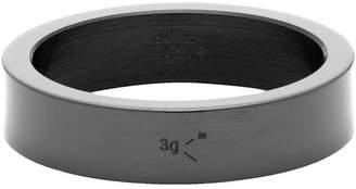 Le Gramme Black Ceramic Le 3 Grammes Ribbon Ring