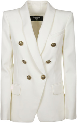 Balmain Fitted Double-breast Blazer