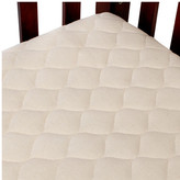 American Baby Company Organic Quilted Portable Fitted Crib Mattress Pad