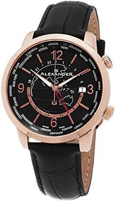 Alexander Men's Analogue Quartz Watch with Leather Strap A171-03
