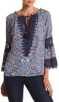 Democracy Crochet Lace Blouse