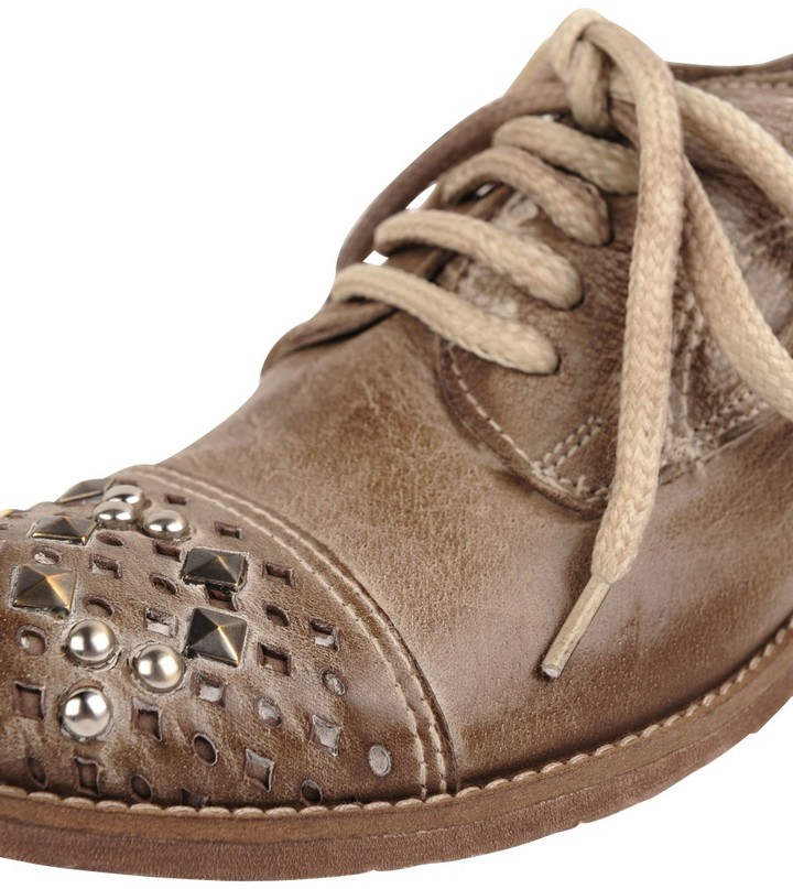 Pezzella Beaded Lace Up
