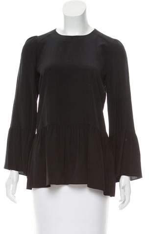 Hoss Intropia Silk Long Sleeve Top