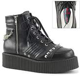 Demonia Men's V-Creeper-565 Sneaker