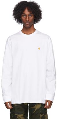 Carhartt Work In Progress White Chase Long Sleeve T-Shirt