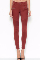 Cello Jeans Burgandy Skinny Jeans