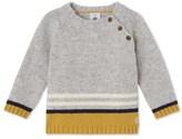 Petit Bateau Baby boys wool and nylon sweater
