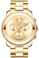 Movado Men's 'Bold' Chronograph Bracelet Watch, 44Mm