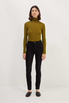SABA Anna High Rise Black Skinny Jean