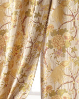 "Sweet Dreams 96""L Fanciful Pheasant Curtain"