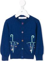 Stella McCartney umbrella embroidered cardigan
