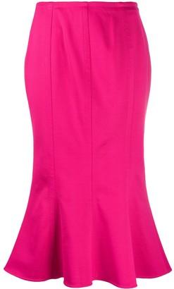Marni Fishtail Midi Skirt