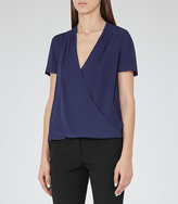 Reiss Bella Wrap Top