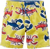Carter's Boys Lobster Print Swim Trunks