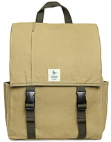 Esperos Khaki Classic Backpack