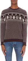 The Kooples Fair Isle-patterned wool jumper