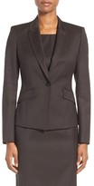 BOSS Women's Jobina Wool Suit Jacket