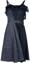 Nina Ricci two-tone denim dress