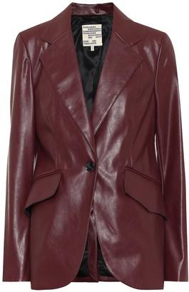 Baum und Pferdgarten Exclusive to Mytheresa Beyonce faux leather blazer