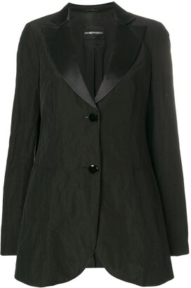 Giorgio Armani Pre-Owned Classic Fitted Blazer